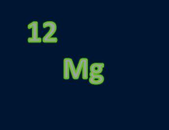 Magnesium - Atomic Number 12